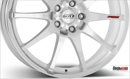 литые диски DOTZ Shuriken white edt