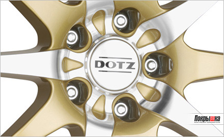 DOTZ Shuriken gold edt