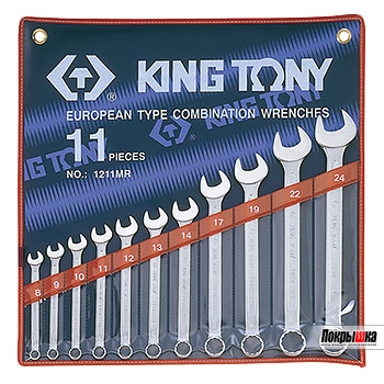 KING TONY 1211SR (11 предметов)