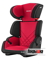 Автокресло RECARO Milano Seatfix (Racing Red)