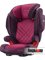 RECARO Monza Nova 2 Seatfix (Power Berry)