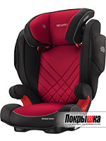 RECARO Monza Nova 2 Seatfix (Racing Red)
