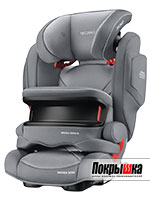Автокресло RECARO Monza Nova IS Seatfix (Aluminium Grey)