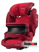 Автокресло RECARO Monza Nova IS Seatfix (Indy Red)