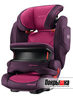 RECARO Monza Nova IS Seatfix (Power Berry)