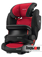 Автокресло RECARO Monza Nova IS Seatfix (Racing Red)