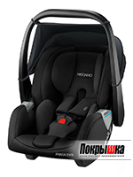Кресло-люлька RECARO Privia EVO (Performance Black)