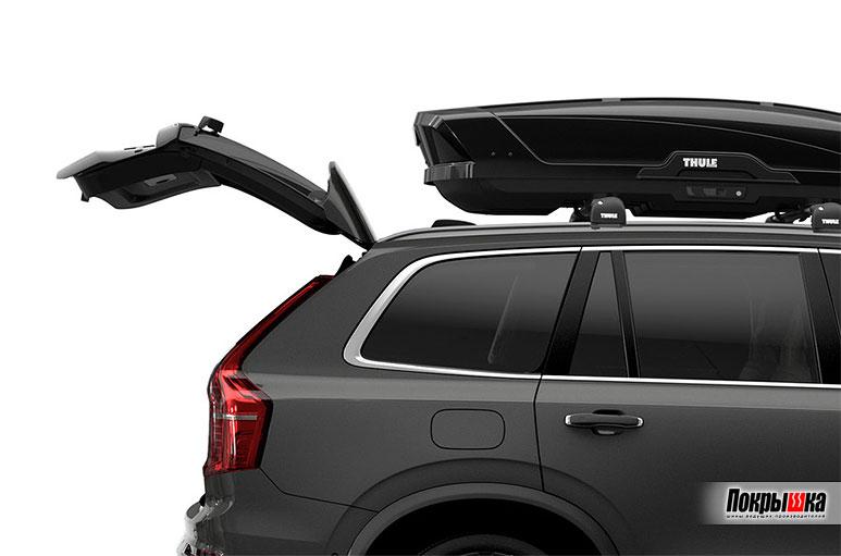 Thule Motion XT Sport не мешает открывать багажник