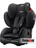 Автокресло RECARO Young Sport Hero (Performance Black)