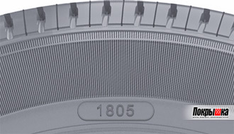 дата изготовления шины