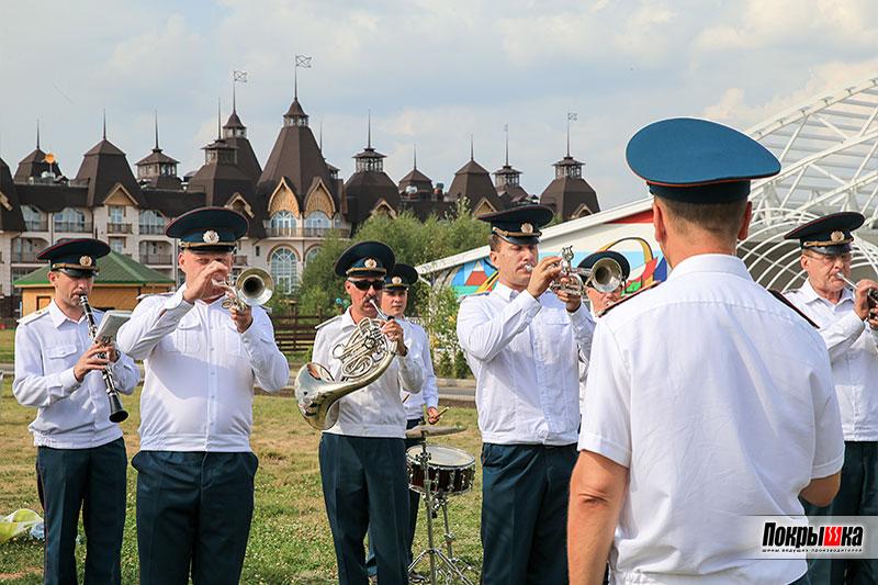 Оркестр МЧС России на Фестивале семейной рыбалки 2018