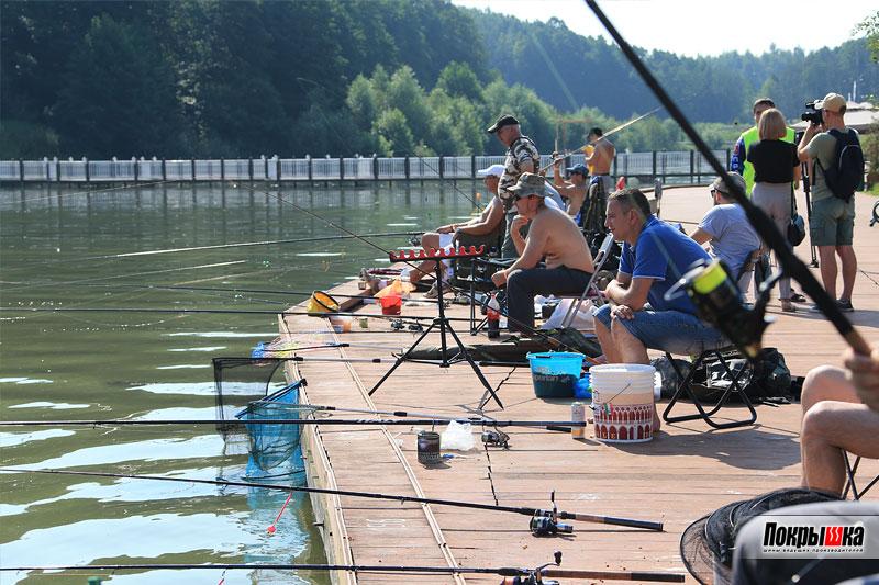 Старт конкурса по рыбной ловле