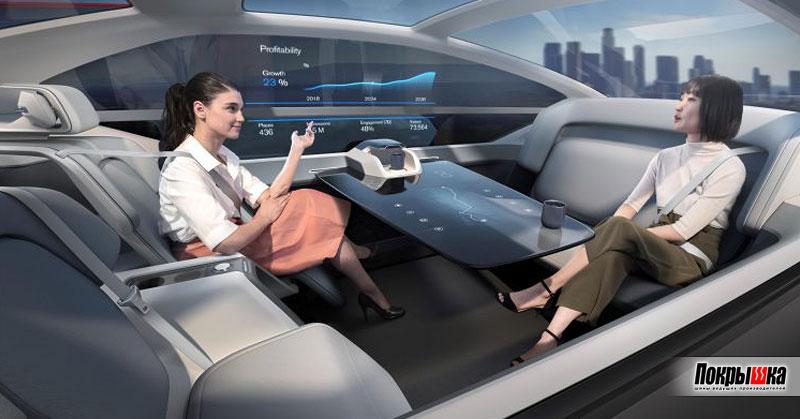 Салон Volvo 360c