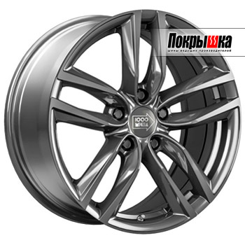 1000 Miglia MM1011 (Dark Anthracite High Gloss)