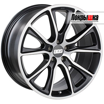 BBS SV (Satin Black Diamond-Cut)