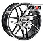 BBS CX (Satin Black Diamond)