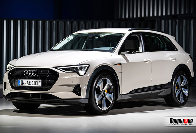 Электро-внедорожник Audi e-tron на шинах Bridgestone