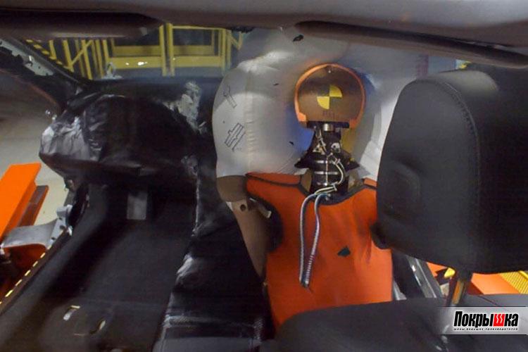 Новая автомобильная подушка безопасности Honda