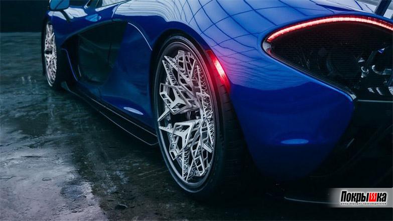 3D-диск на автомобиле