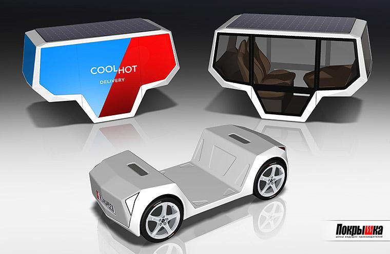 Hankook Tire будет поставлять шины для передового проекта в области микроавтомобилей