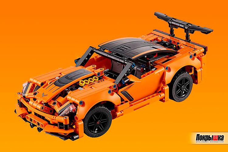 Испытания игрушечного автомобиля Corvette ZR1