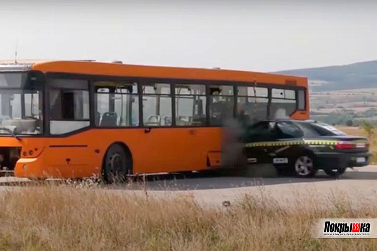 Краш-тест Opel Omega