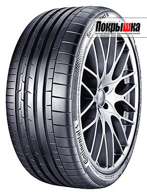 высокоскоростная летняя шина Continental SportContact 6