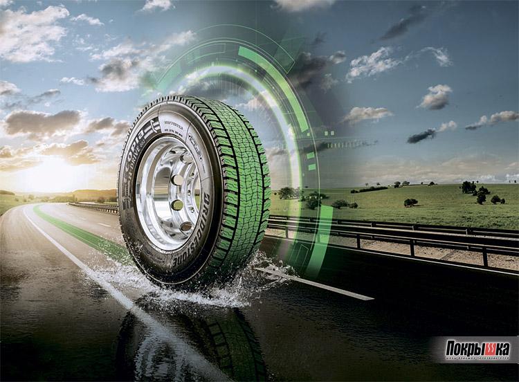 Современные технологии в проектировании шин Bridgestone