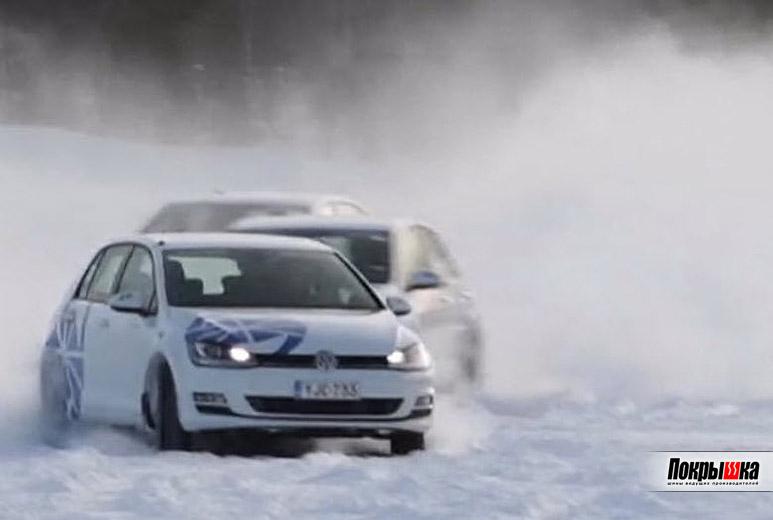 Тестирование зимних нешипованных шин 2018