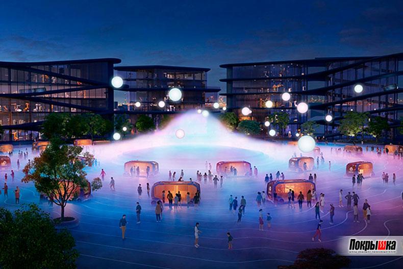 Тойота построит умный город
