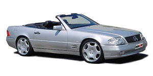 диски  MERCEDES-BENZ  sl-(129)