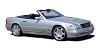 шины MERCEDES-BENZ SL (129) 1989-2000