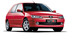 ����� �����  PEUGEOT  306 Hdi 90 - (66 kW)