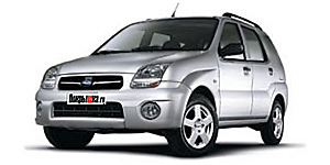 шины SUBARU  justy-g3x-nh