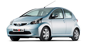 литые диски  TOYOTA  aygo 1.4 HDi