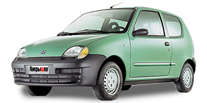 литые диски  FIAT  seicento-(187) Abarth