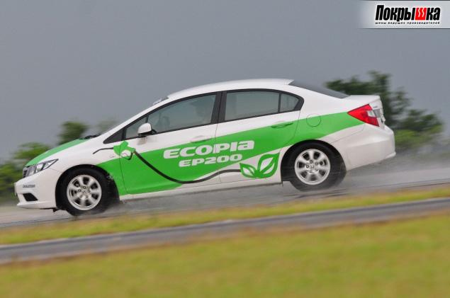 Бриджстоун Ecopia 200 на машине с R16