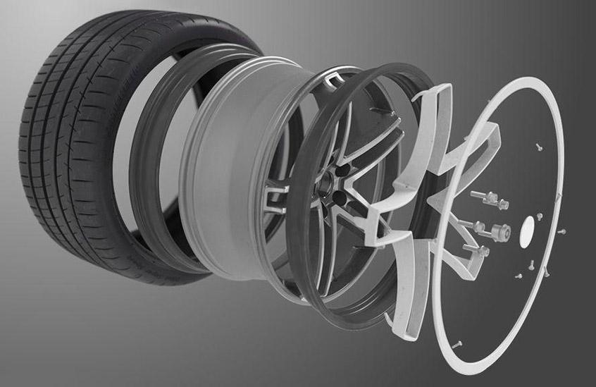 Конструкция гибких колесных дисков с технологией Acorus