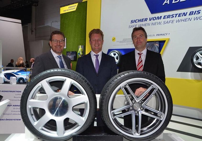 Презентация гибких колесных дисков с технологией Acorus